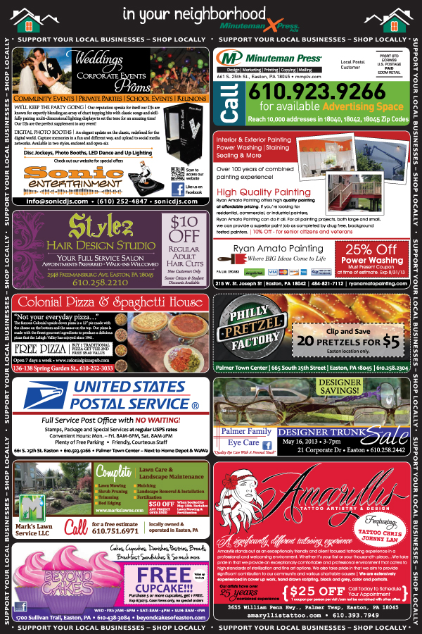 E1 201305-1 XPress ad May 2013 front